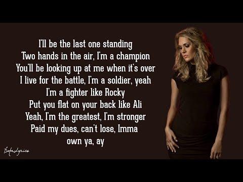 The Champion - Carrie Underwood ft. Ludacris (Lyrics) ?