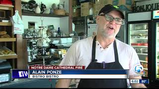 French bakery owner in West Palm Beach reflects on significance of Notre Dame fire