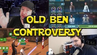 Star Wars: Galaxy Of Heroes - Old Ben Controversy For Unlocking Commander Luke