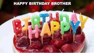 Brother - Cakes Pasteles_711 - Happy Birthday