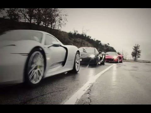 LaFerrari Vs Porsche 918 Vs McLaren P1: World Exclusive Teaser | Top Gear