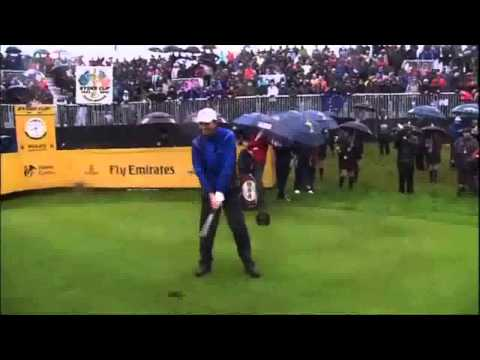 Ryder Cup 2010 Highlights Day 1 at Celtic Manor Resort, Wales.wmv