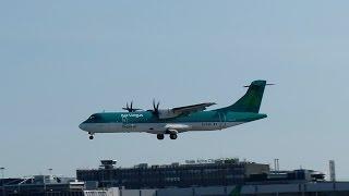 Aer Lingus Regional ATR 72-600 [EI-FAS] Landing Dublin DUB