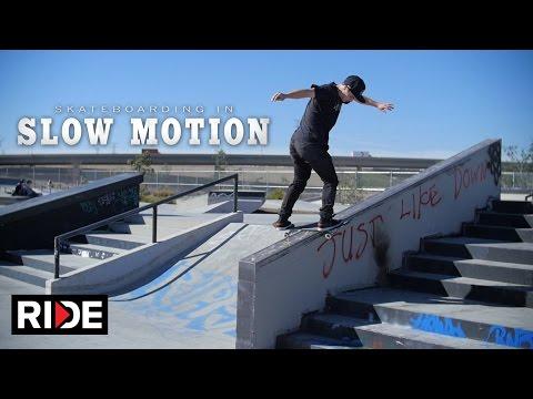 Olivier Lucero - Skateboarding in Slow Motion