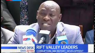 Rift valley leaders meet in Rongai to discuss critical issues among them, the BBI report