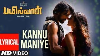 gratis download video - Kannu Maniye - Lyrical   Bailwaan Tamil   Kichcha Sudeepa   Krishna   Arjun Janya