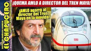 AMLO sorprende a todos y exhibe corrupción del director del Tren Maya