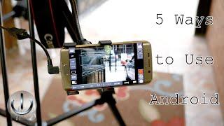 חיבור ה DSLR  לפלאפון - שימושי למי שמצלם סרטונים בעיקר