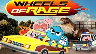 The Amazimg World of Gumball - WHEELS of RAGE [Cartoon Network Games]