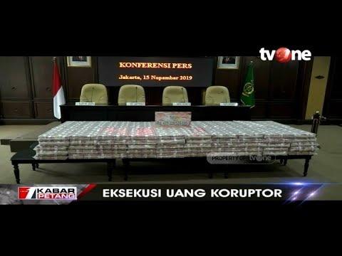 WOW! Kejagung Pamerkan Uang Ratusan Miliar Hasil Eksekusi Barang Bukti Korupsi