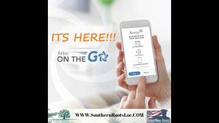 Arise has an app WooHoo!!!