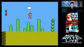 Garbage NES hacks - Mike Matei Live