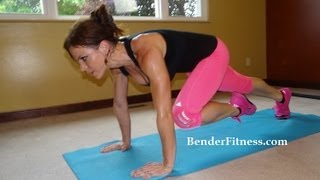 15 Minute Cardio Sweat: HIIT Bodyweight Workout by Melissa Bender