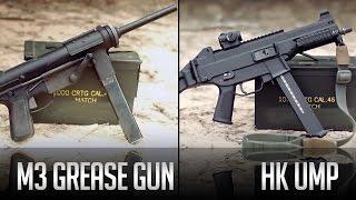 M3 Grease Gun and HK UMP