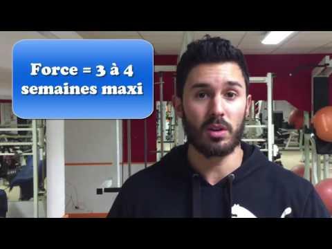 Comme traiter la distension des muscles dans laine