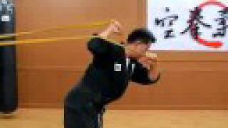 30(takedown1)perfect Seoi-nage training (Grand Master Kang-jun) (Korean Martial Arts)