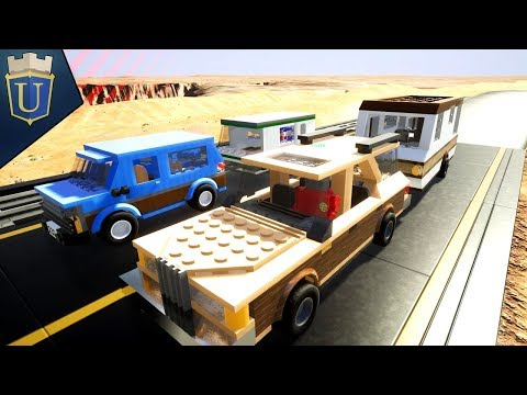 THE GREAT CARAVAN RACE | Brick Rigs | Multiplayer Gameplay