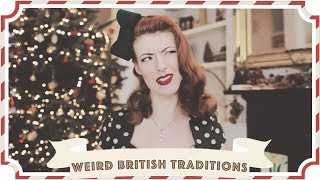 Weird British Christmas Traditions // Christmastide Day 3 [CC]