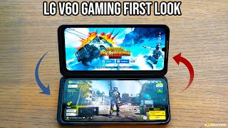 LG V60 ThinQ 5G Gaming - PubG & COD Mobile First-Look!!!!