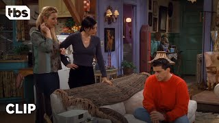 When Joey hears that Chandler is hanging out with a girl named Ginger he is forced to tell Monica and Phoebe the most awful thing he's ever done.  #TBS #Friends #MattLeBlanc  SUBSCRIBE: http://bit.ly/TBSSub  Download the TBS App: http://bit.ly/1qBbkMW  About Friends: Pull up a couch and relax at Central Perk, where six Friends gather to talk about life and love. Friends tells the story of siblings Ross (David Schwimmer) and Monica (Courteney Cox) Geller, and their friends, Chandler Bing (Matthew Perry), Phoebe Buffay (Lisa Kudrow), Joey Tribbiani (Matt LeBlanc), and Rachel Green (Jennifer Aniston).  Full episodes: https://www.tbs.com/shows/friends  Get Social With Friends: Facebook: https://www.facebook.com/friends.tv/ Twitter: https://twitter.com/FriendsTV Instagram: https://www.instagram.com/friends/?hl=en  About TBS:   The home of Conan, Full Frontal with Samantha Bee, American Dad, The Last O.G., Angie Tribeca, The Detour, Wrecked, Search Party, & The Guest Book.  Get more TBS:   Full Episodes: http://www.TBS.com/shows/   YouTube: http://www.YouTube.com/TBS   Twitter: https://Twitter.com/TBSNetwork Facebook: http://Facebook.com/TBSNetwork   Instagram: https://Instagram.com/TBSNetwork    Friends: Joey's Awful Mistake (Season 3 Clip) | TBS https://youtu.be/_4WxoTeaMZM  TBS http://www.YouTube.com/user/TBS