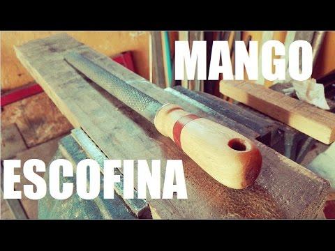 Mango de madera para escofina