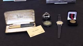 Визитная карточка, авторучки и часы: личные вещи Оскара Шиндлера уйдут с молотка