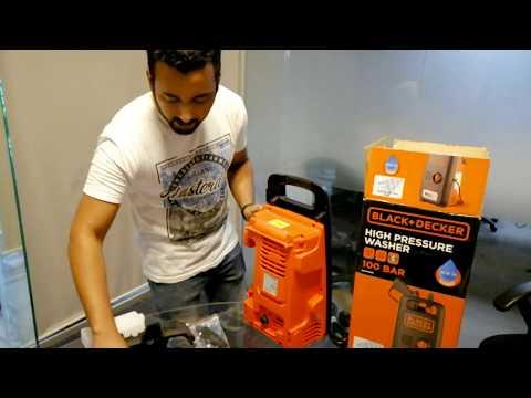 Black + Decker Pressure Washer 1300w
