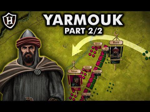 Bitva u Jarmúku – Muslimové proti Byzantíncům