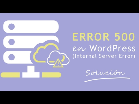 Error 500 en WordPress  Internal Server Error SOLUCIN  VitaminasWP
