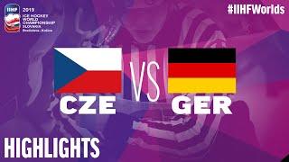 Czech Republic vs. Germany - Game Highlights