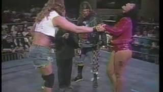 ECW Divine Brown Debut 1996