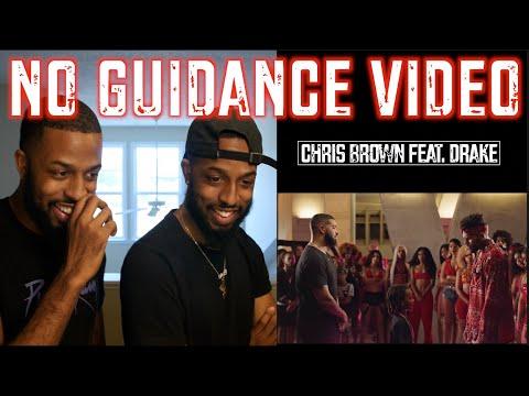 """CHRIS BROWN FEAT. DRAKE """"NO GUIDANCE"""" OFFICIAL VIDEO REACTION   #MALLORYBROS"""
