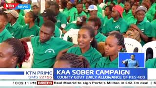 The recovering alcoholics in Kiambu county  are ready to start a new life