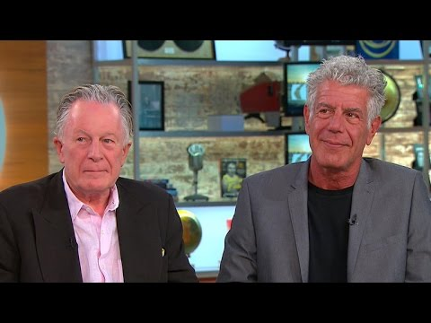 Chefs Anthony Bourdain and Jeremiah Tower on new documentary