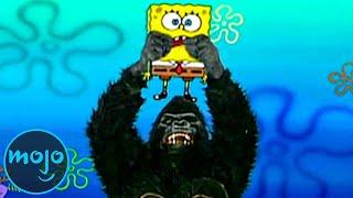 Top 10 Times SpongeBob Squarepants Broke the 4th Wall