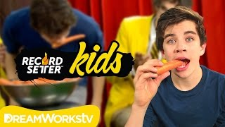 Hayes Griers Carrot Challenge | RECORDSETTER KIDS