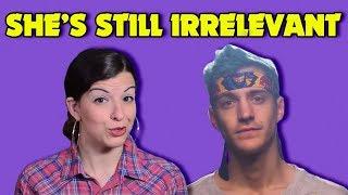 Anita Sarkeesian Goes After Ninja To Regain Relevancy...She Failed...