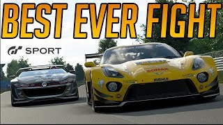 Gran Turismo Sport: My Best Ever Fight