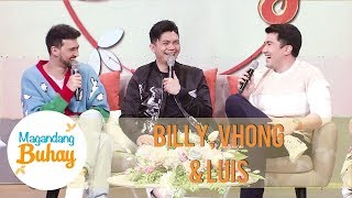 Billy, Vhong and Luis look back on their Kanto Boys days | Magandang Buhay
