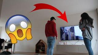 DE GROTE TV IS KAPOT - PRANK OP KOEN