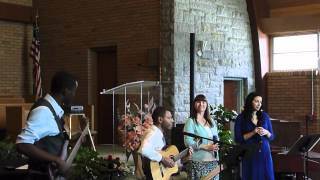 Not the I but the You In Me - Guno Thompson and InnerJoy, Lincoln Easter Concert