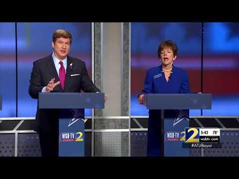 Atlanta Mayoral Debate: Peter Aman and Cathy Woolard get heated