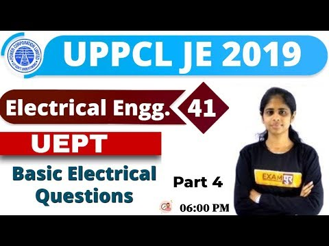Class-41 || UPPCL JE 2019 || Basic Electrical || By Deepa Maam || Basic Questions
