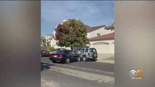 Caught On Camera: Driver Rams Into Man With Car