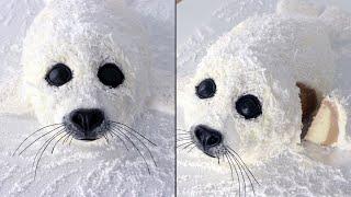Chubby Baby Seal Cake Tutorial!   Animal Cakes