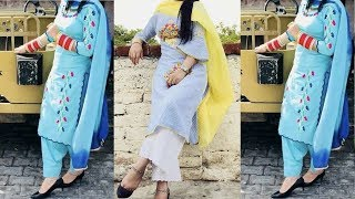 Latest Punjabi Suit Designs || Embroidery Suits For College Girls || Punjabi Suits 2019
