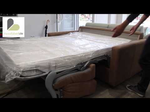 TEXAS / DUSTER Schlafsofa mit Klappfunktion von sofaplus - Gästebett - mysofabed.de