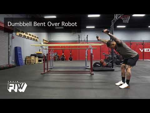 Dumbbell Bent Over Robot