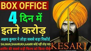 Kesari Box Office Collection Day 4,Kesari 4th Day Box Office Collection, Akshay Kumar, Parineeti c