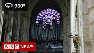 In 360: Notre-Dame cathedral before the fire - BBC News